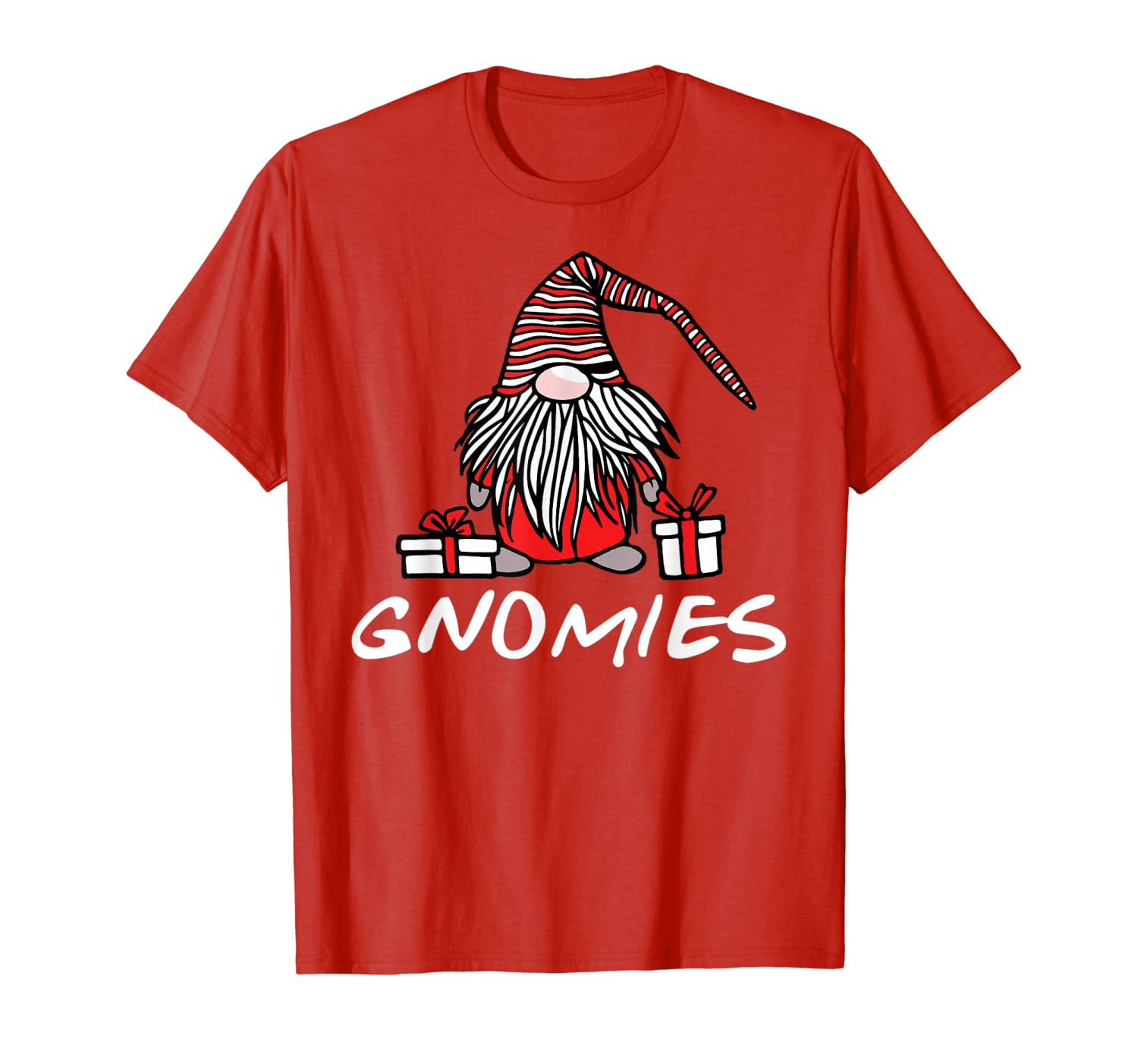 Christmas Gnomes Gift Garden Gnome for Men and Women T-Shirt-TH