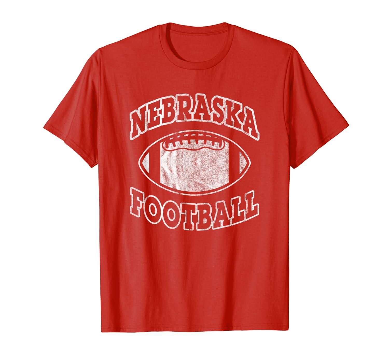 Nebraska Football Vintage Distressed T-Shirt-TH