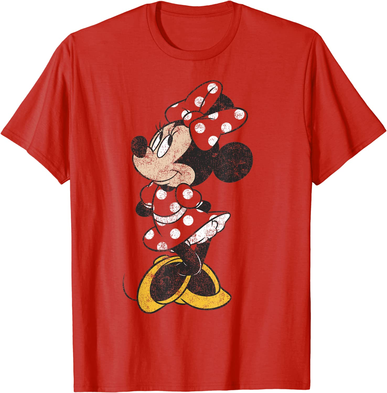 Disney Mickey And Friends Minnie Mouse Simple T-Shirt