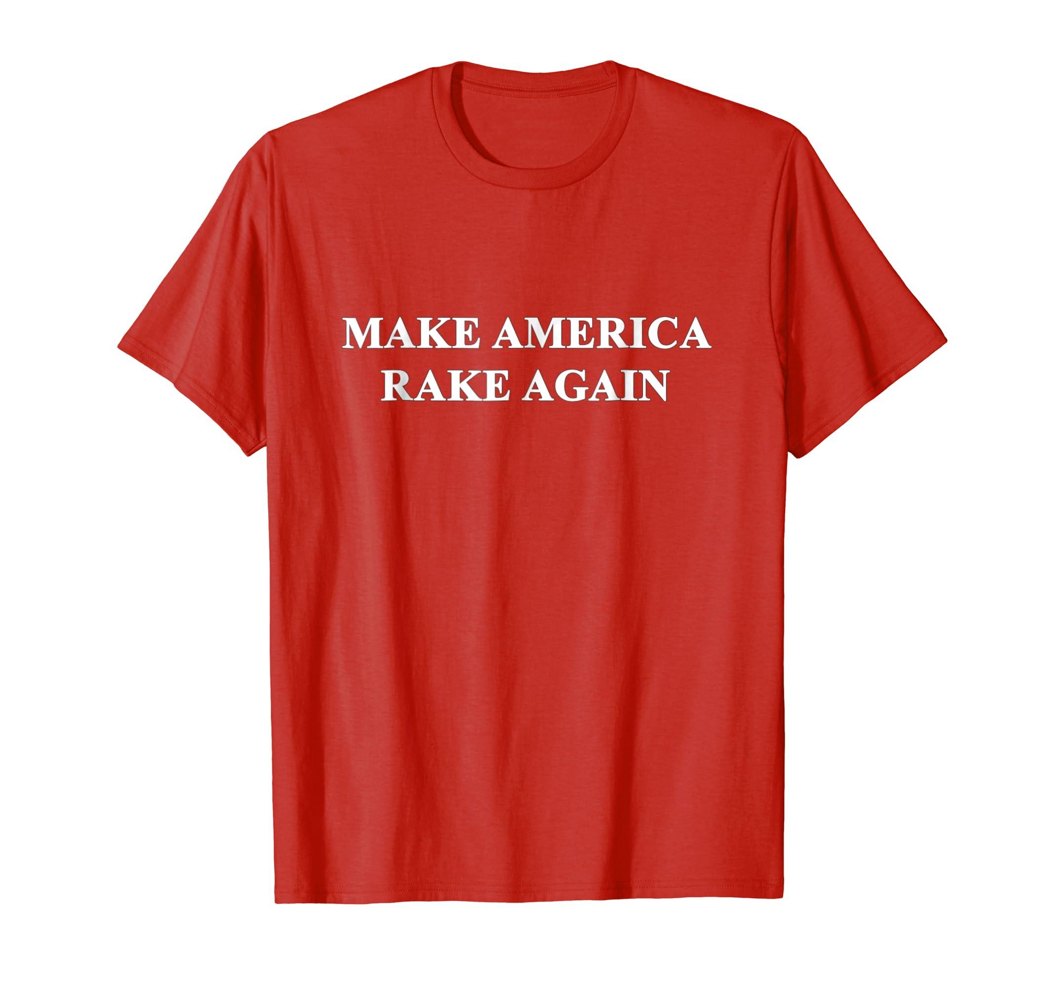 Make America Rake Again standard tee-azvn