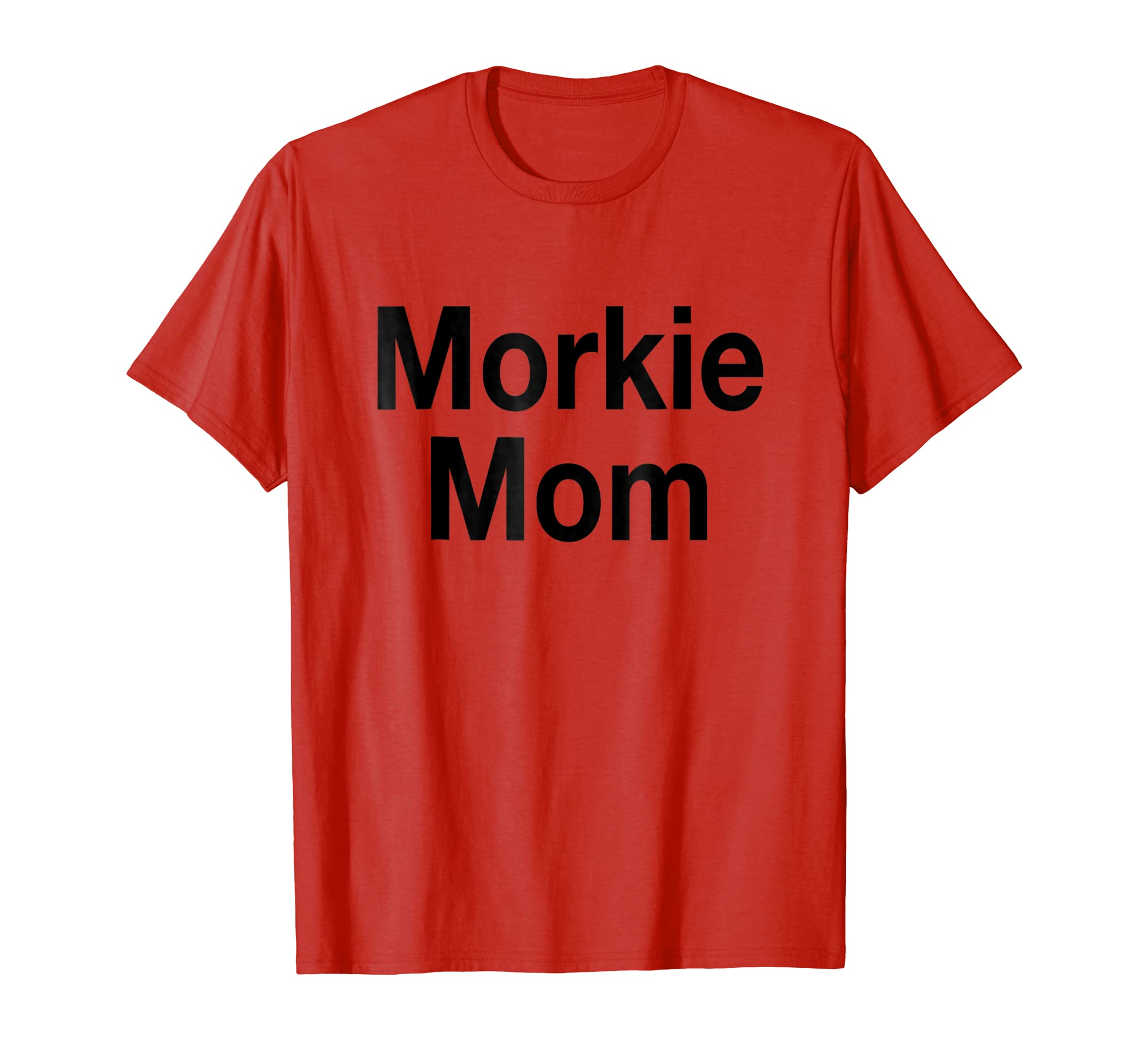 Morkie Mom in Black,Dog,Dogs,Gift,Love.Cute,Pet T-Shirt-AZP