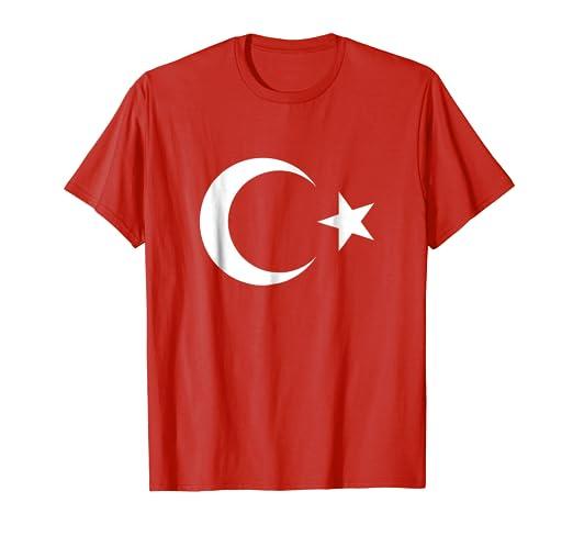 Amazon Com Turkish Flag Turk Bayragi Ataturk Islam T Shirt
