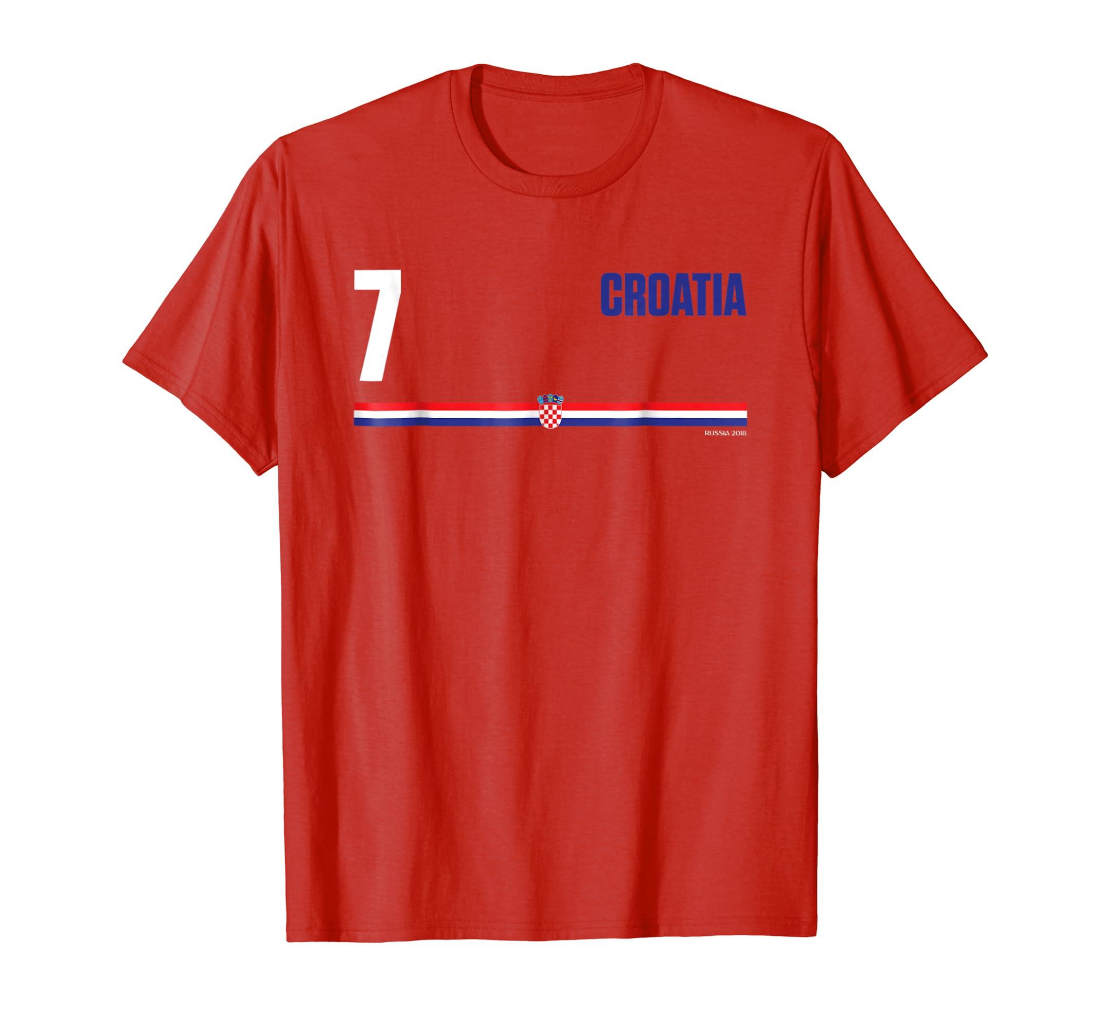 a28b242533d Croatia Hrvatska T-shirt Soccer Football Jersey Style-ln – Lntee