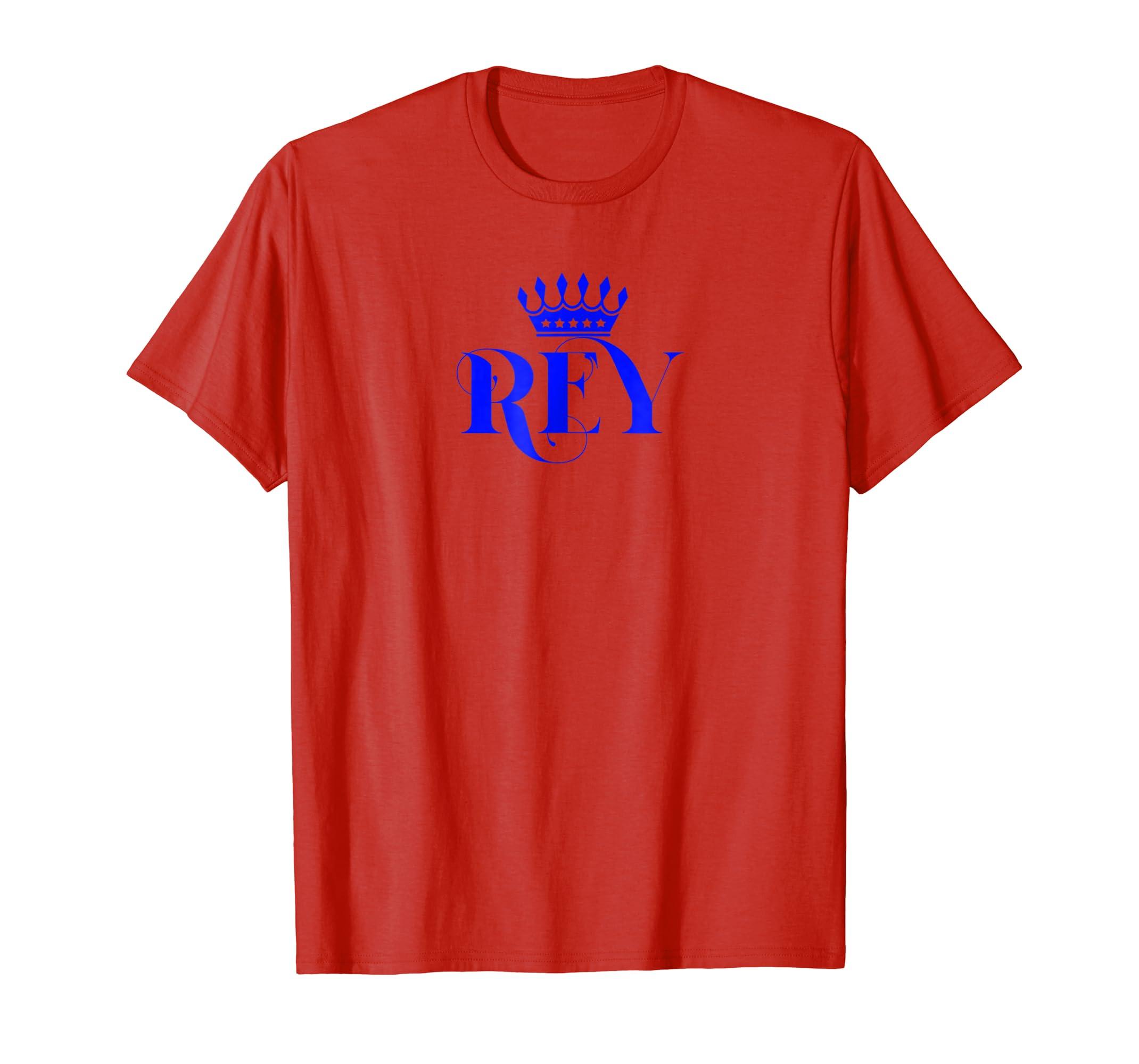 Amazon.com: Rey Camisa King Tshirt Dad Father Papa Regalo Gift Men: Clothing