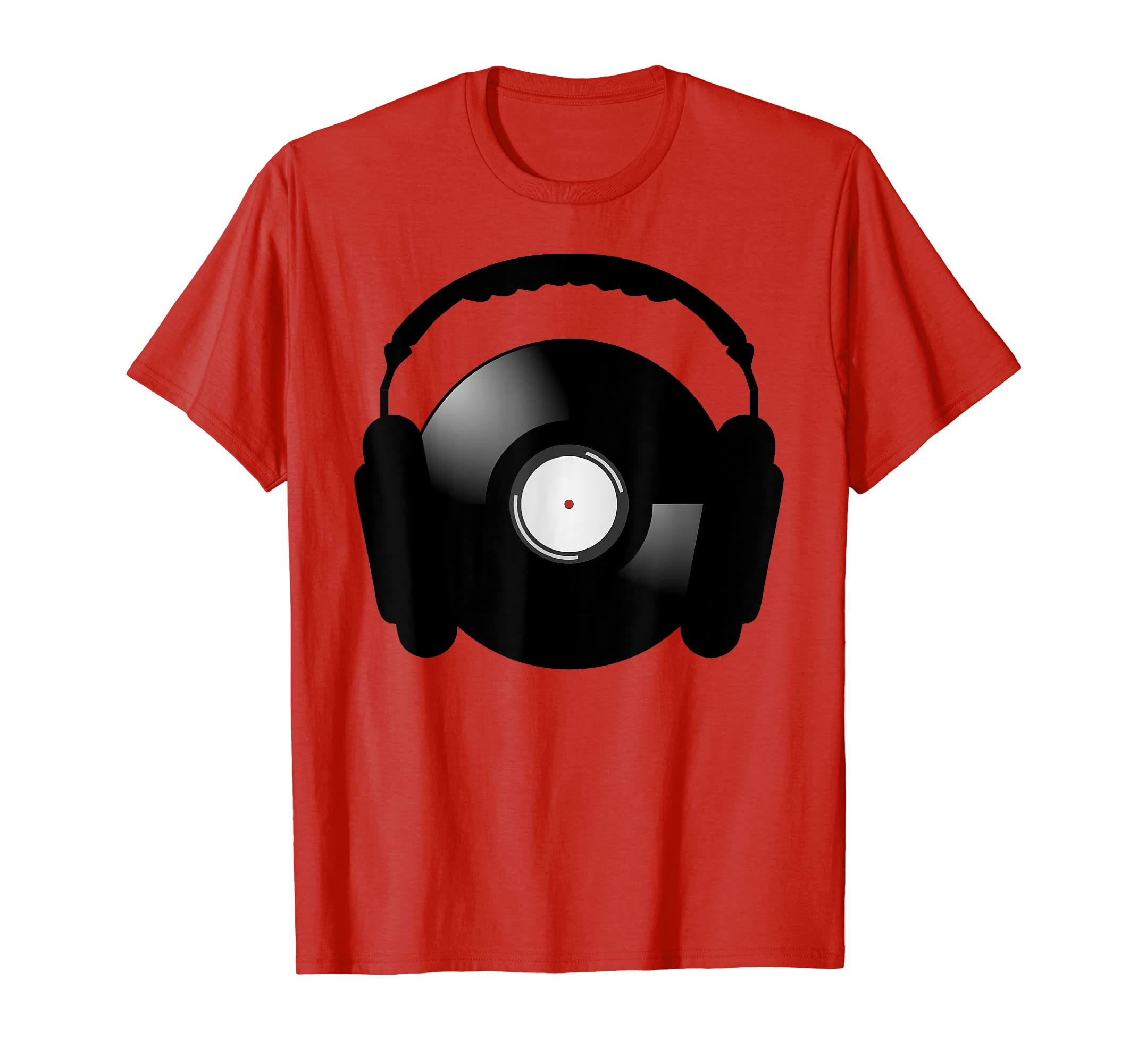 Vinyl And Headphones Bliss T-Shirt-Teehay