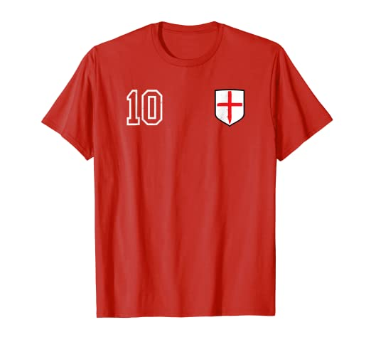 d88c1cca61b Image Unavailable. Image not available for. Color  Retro England Soccer  Jersey England Football T-Shirt 1966
