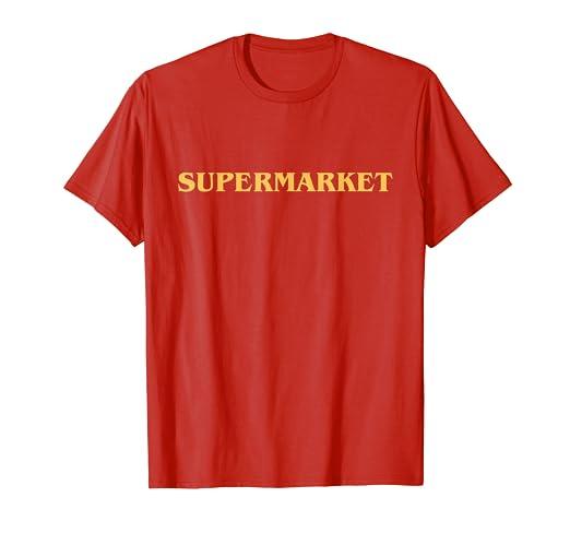 9413e000147d Amazon.com: Supermarket Logic T-Shirt   Fitted: Clothing