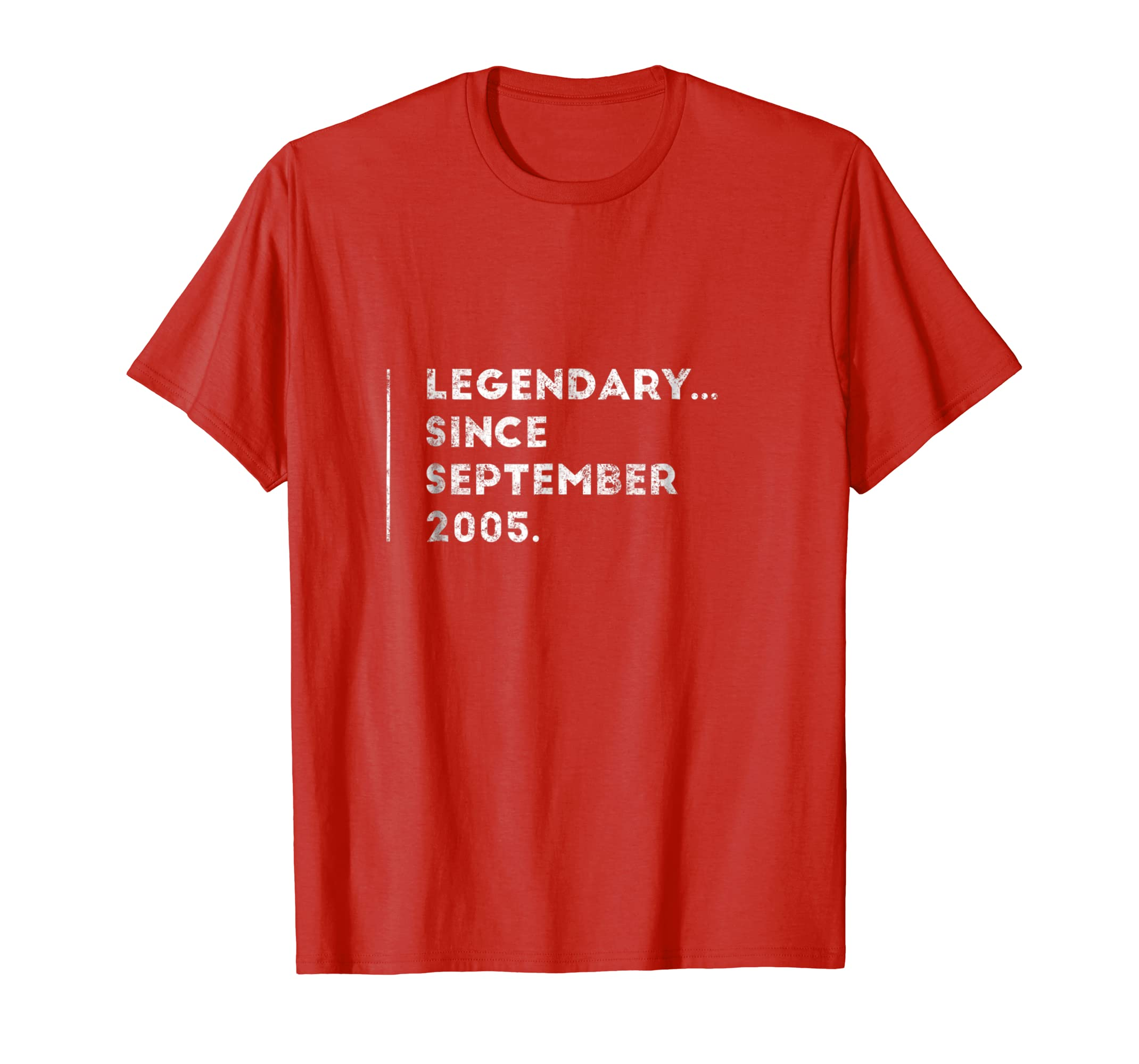 Amazon Legendary Since September 2005 13 Year Old 13th Birthday Tee Clothing