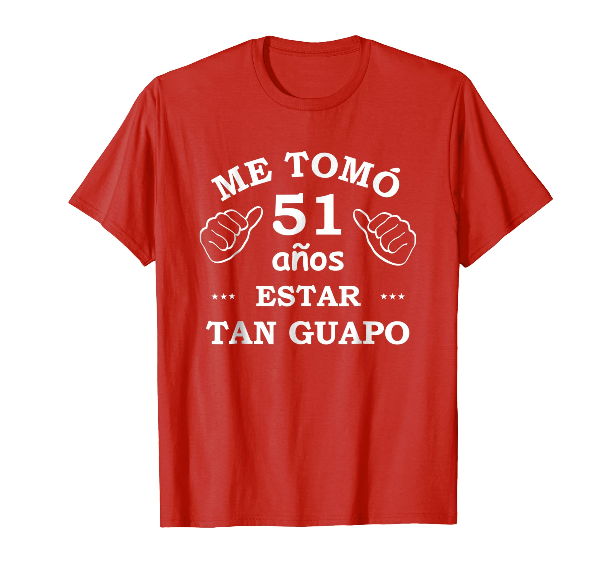 Amazon.com: Mens Camiseta de Cumpleanos 51 Hombre - Birthday ...