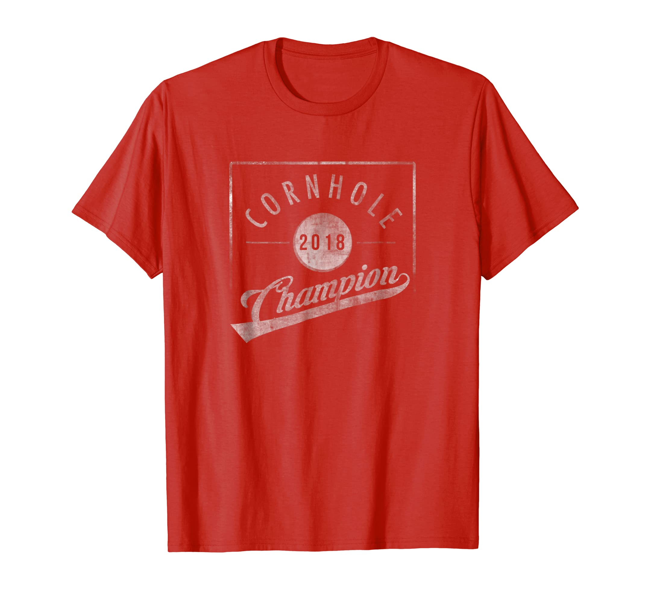 Funny 2018 Cornhole Champion Shirt-fa