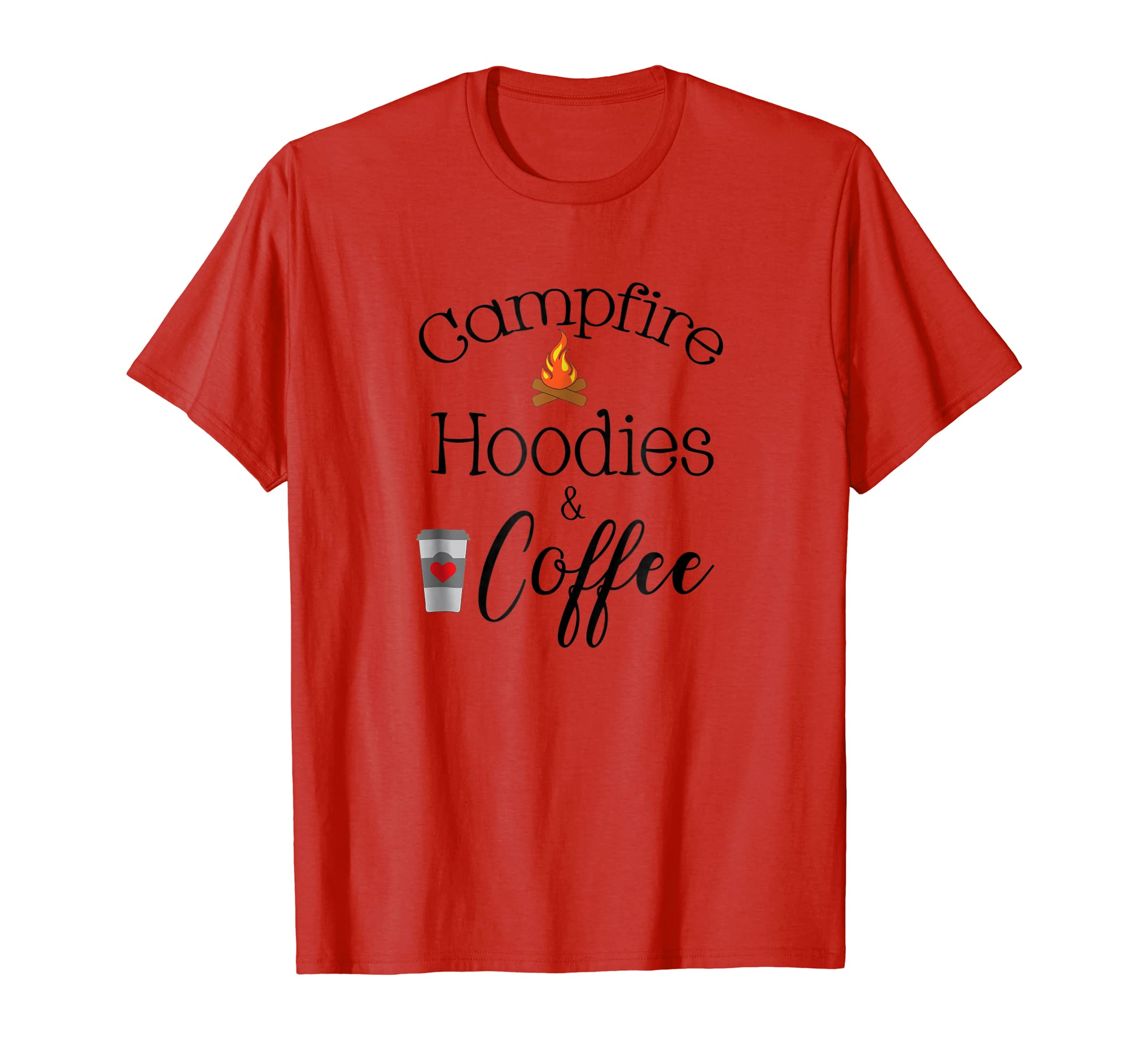 Campfire Hoodies and Coffee Shirt