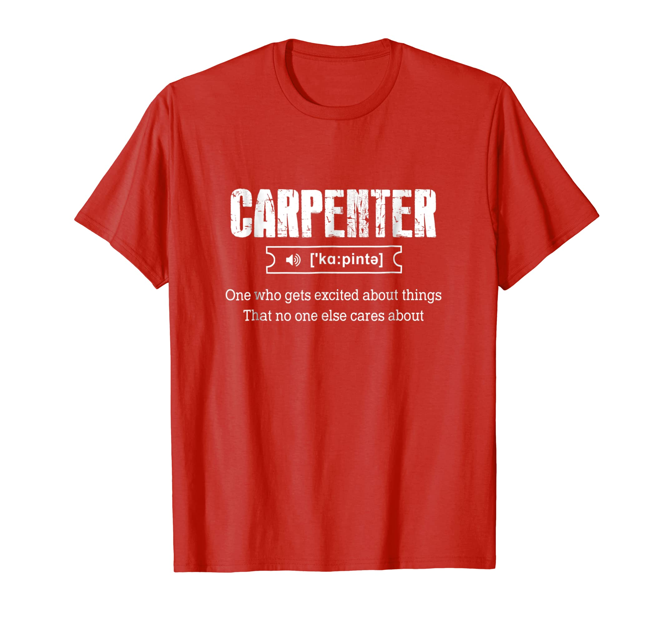 Carpenter One Who Gets Exited About Things That No One-ln