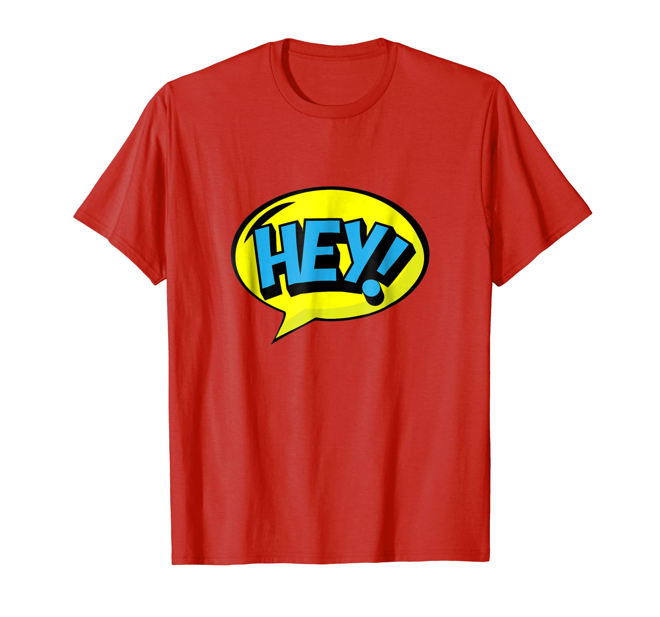 Amazon com: Hey! Speech bubble graphic T-Shirt for Men and