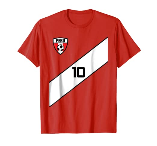 Image Unavailable. Image not available for. Color  Peru Soccer Jersey ... eb4c55f8d9