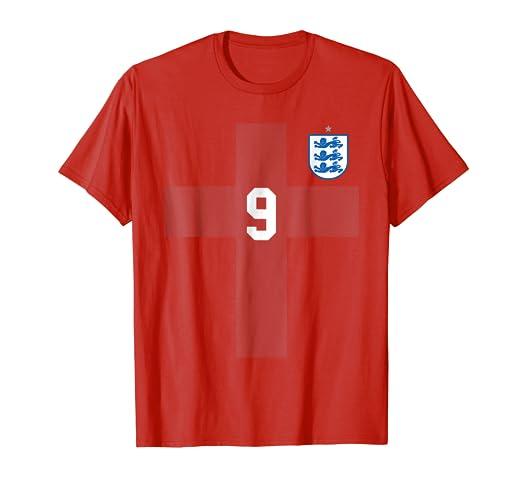 acebaa030 Amazon.com: England Soccer Jersey Football 2018 T-Shirt Away: Clothing