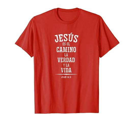 Camisetas Cristianas en Espanol con refranes de la Biblia
