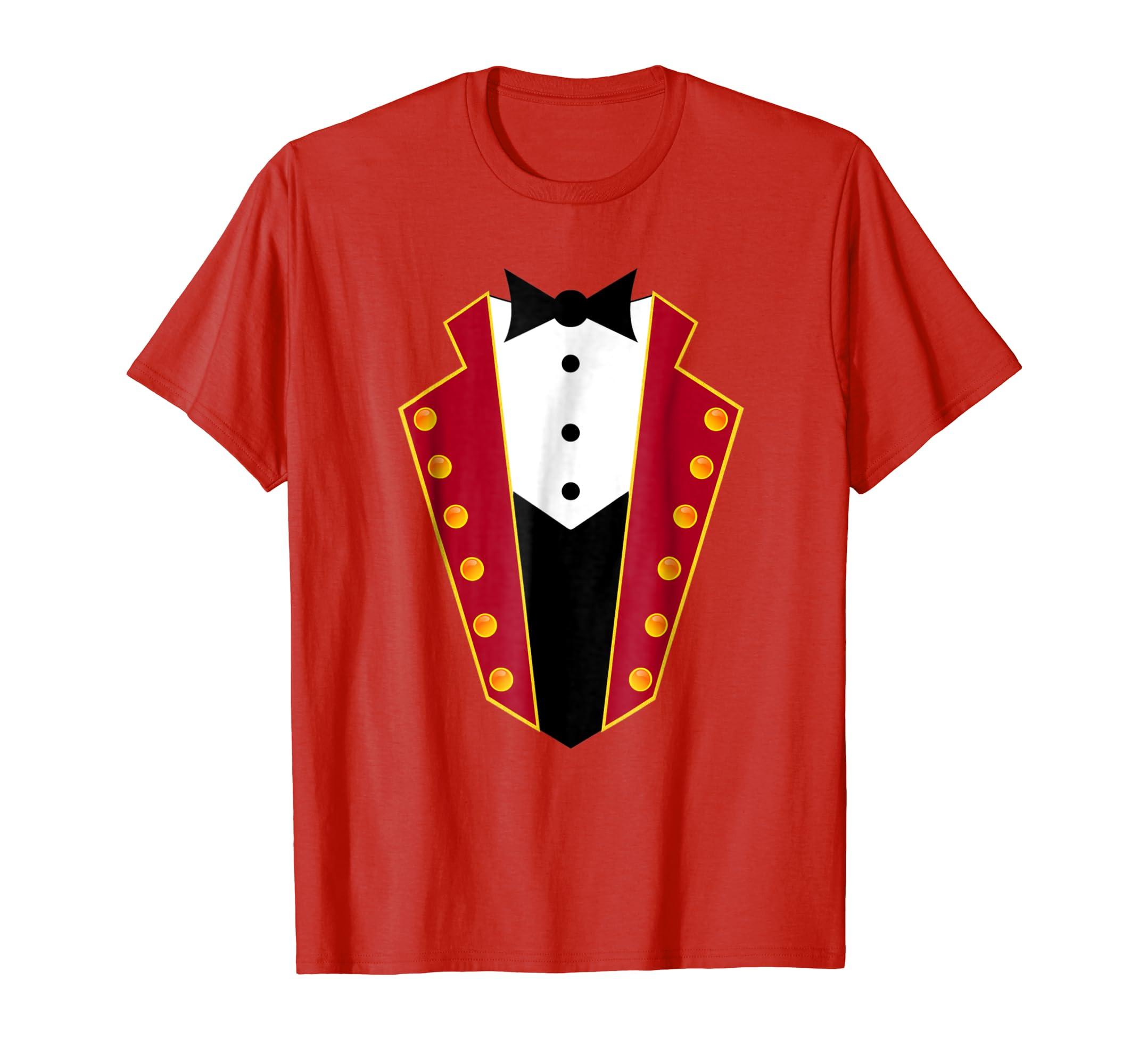 Ringmaster Costume Circus Showman Party Shirt Gift-mt