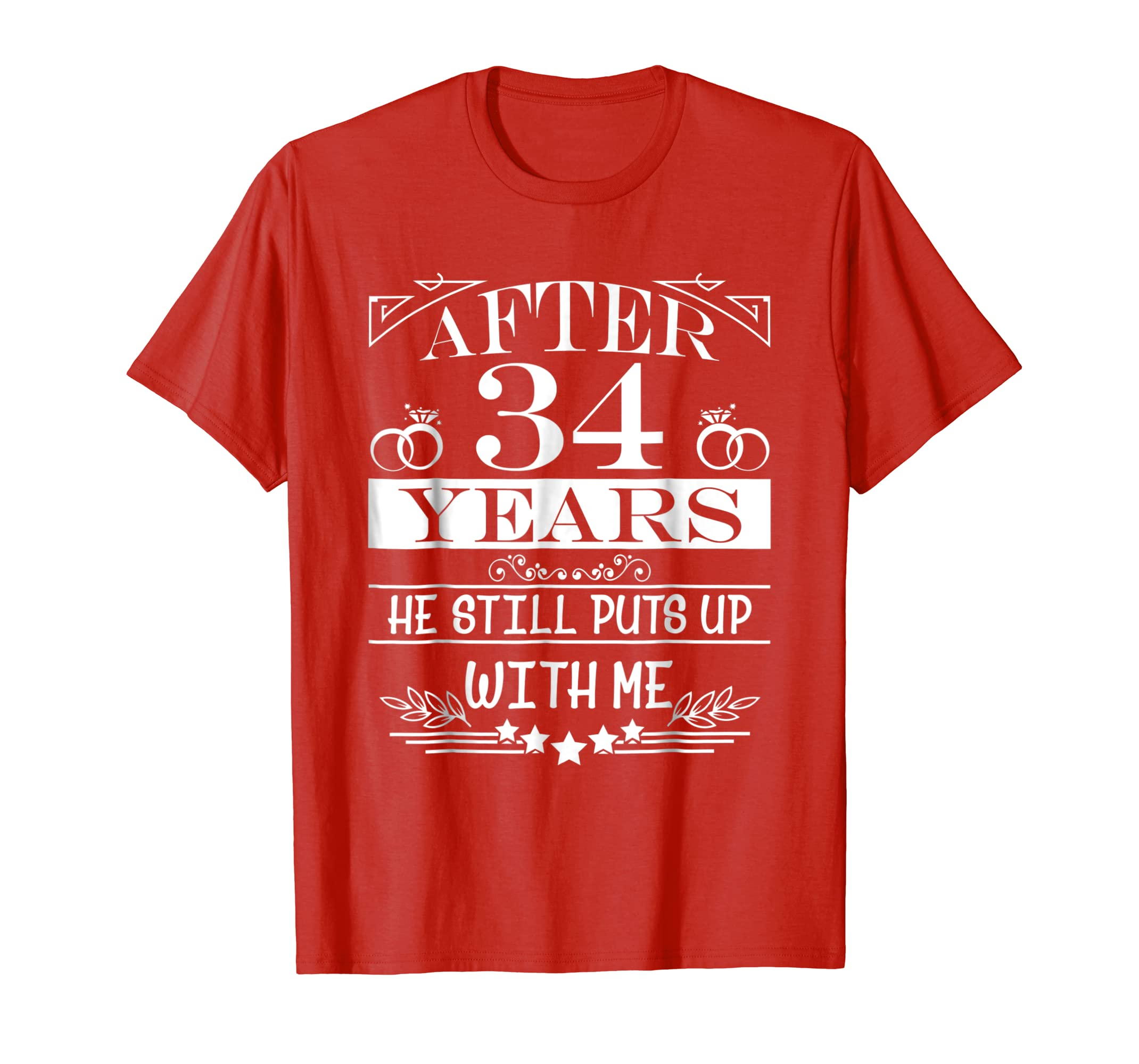 Amazon.com: 34th Wedding Anniversary Gifts For Her/Wife. Couple ...