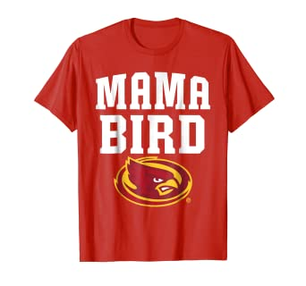 online store 36ec2 ebe66 Image Unavailable. Image not available for. Color  Iowa State Cyclones Mama  Bird T-Shirt - Apparel