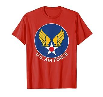 02b96806 Amazon.com: Marvel Captain Marvel U.S. Air Force Badge Graphic T ...