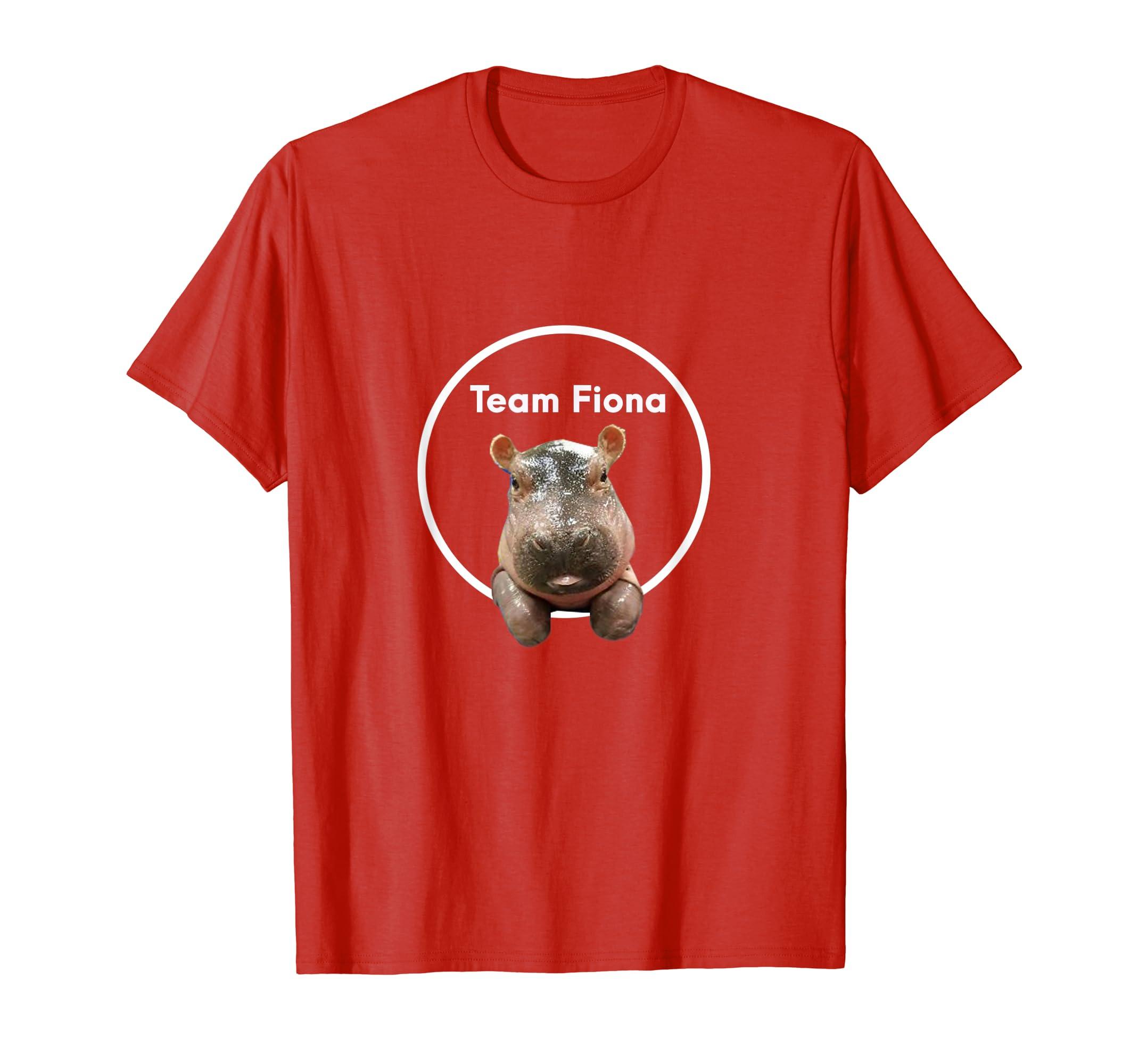 #teamfiona Fiona The Baby Hippo T shirt Love Hippopotamus-Awarplus