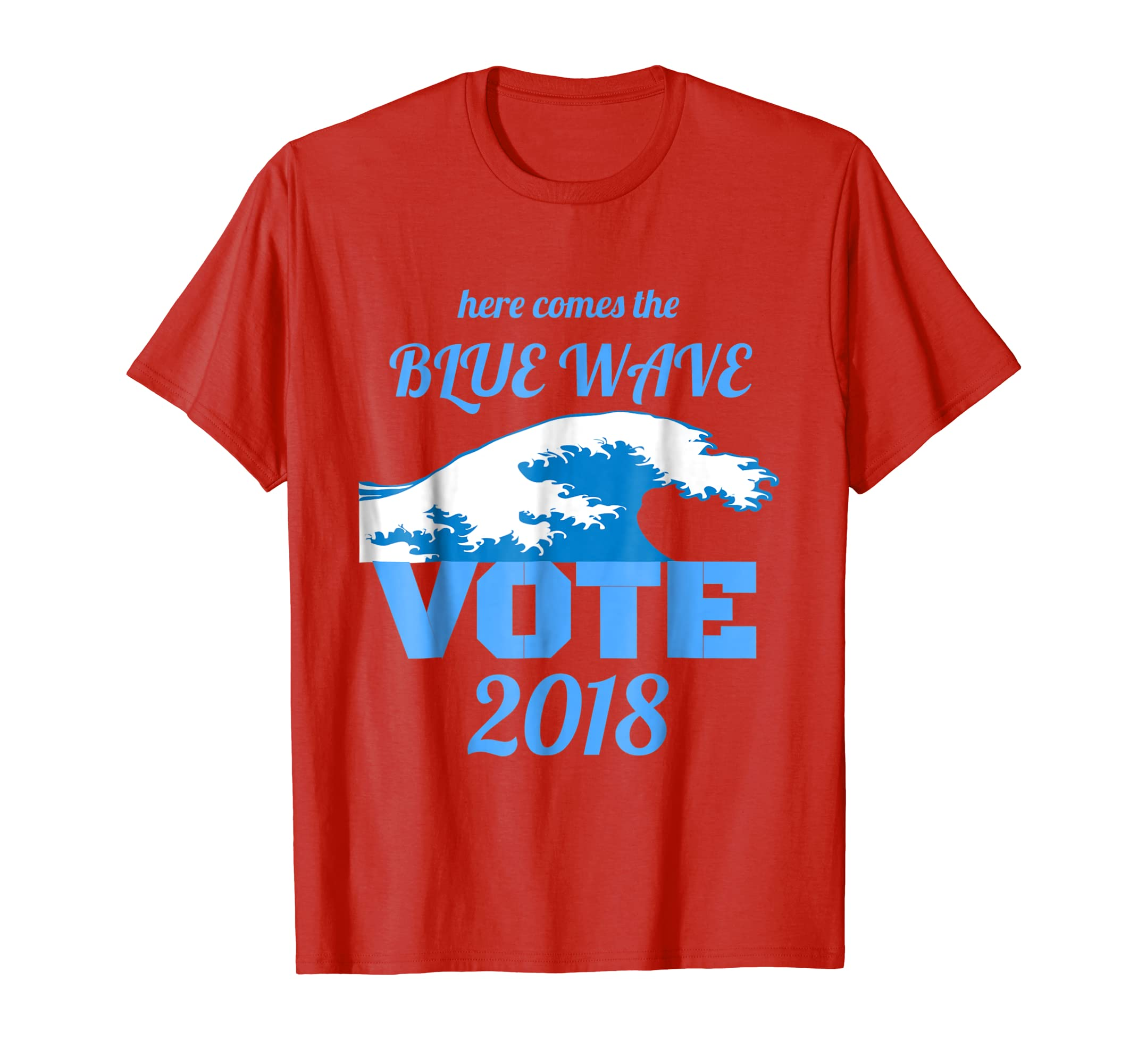 Here Comes the Blue Wave shirt-ln