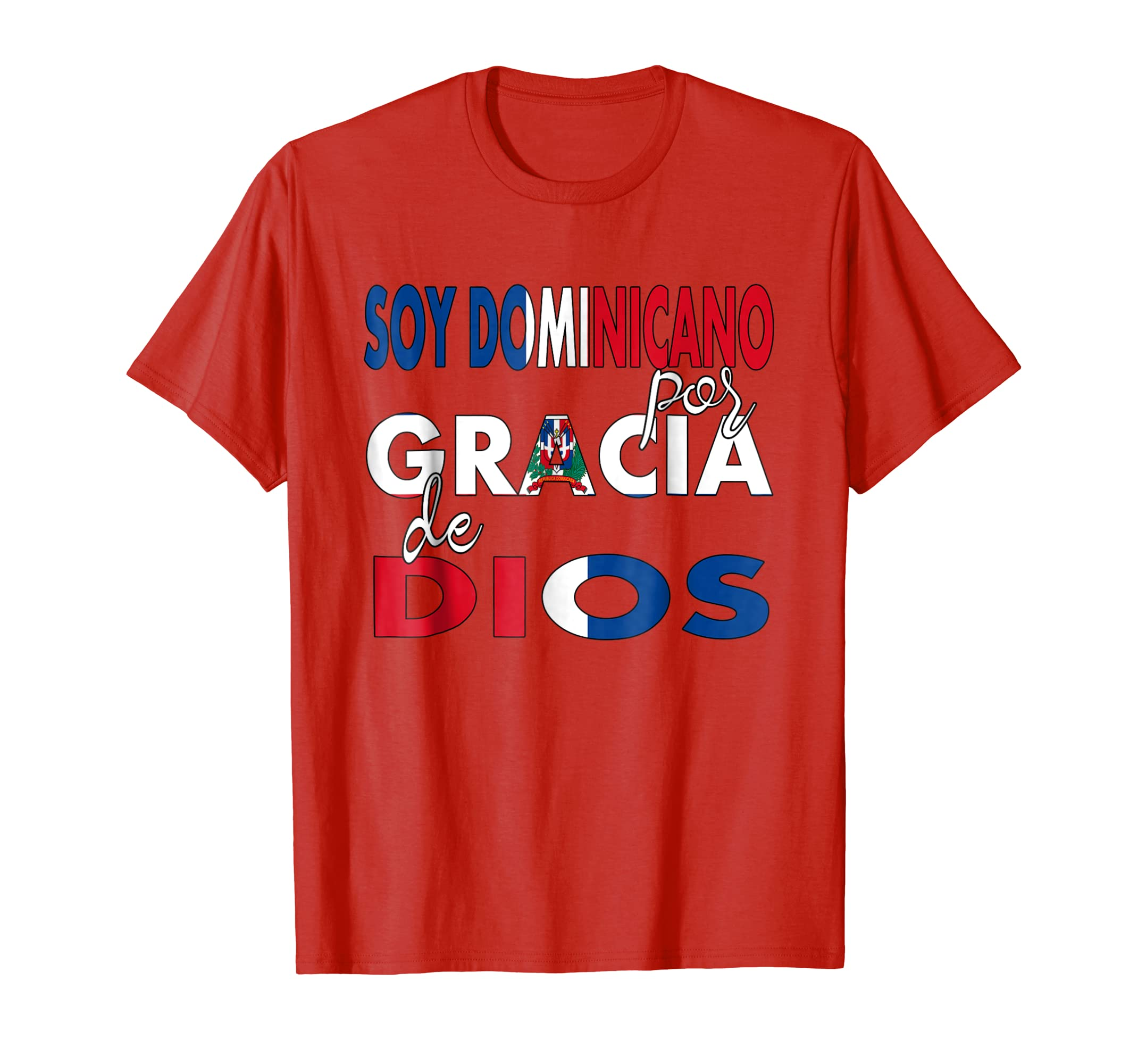Amazon.com: Camiseta Republica Dominicana Camiseta Religiosa En Espanol: Clothing