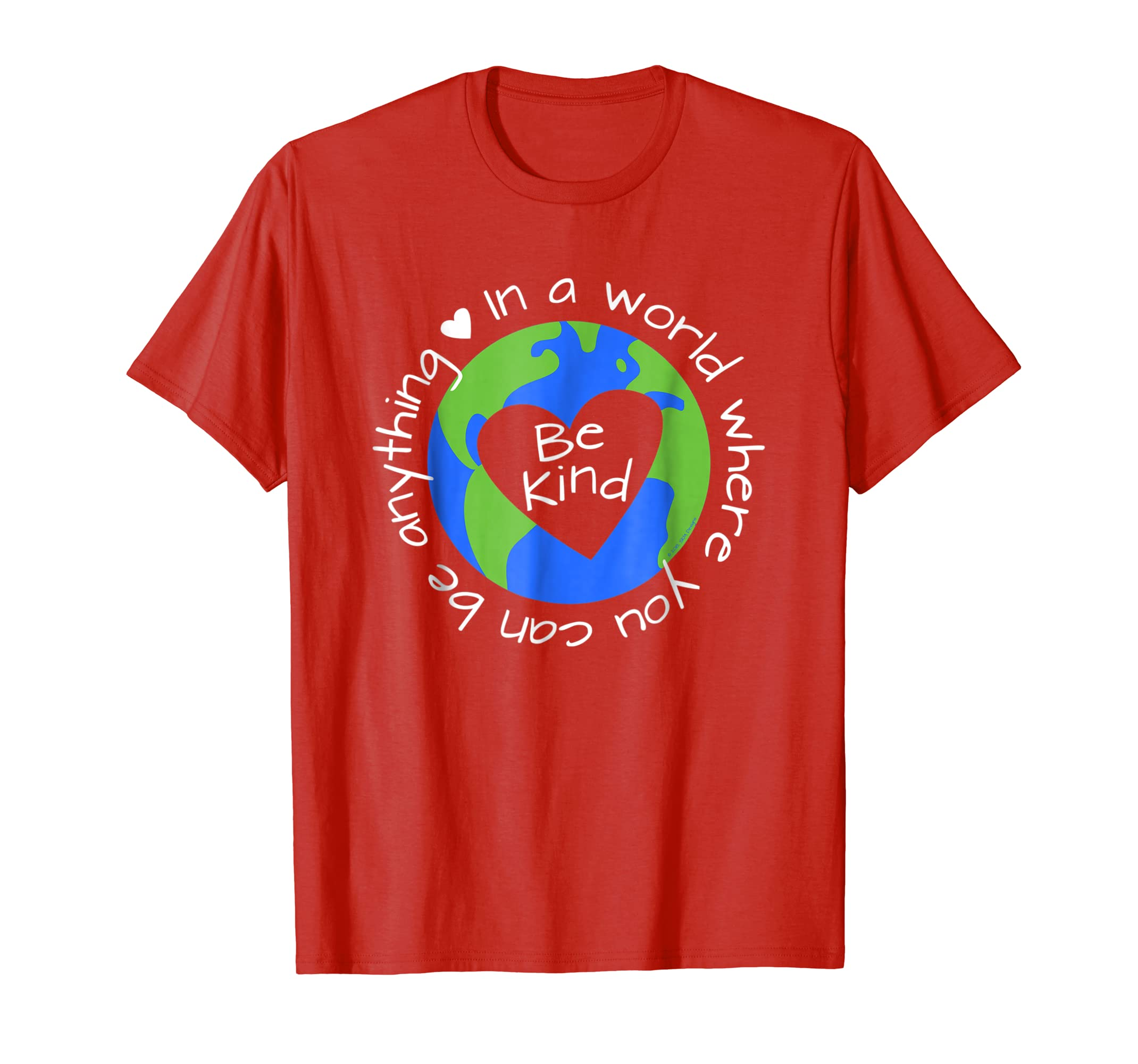 Be Anything Be Kind T shirt   World Anti Bullying Lesson-Colonhue