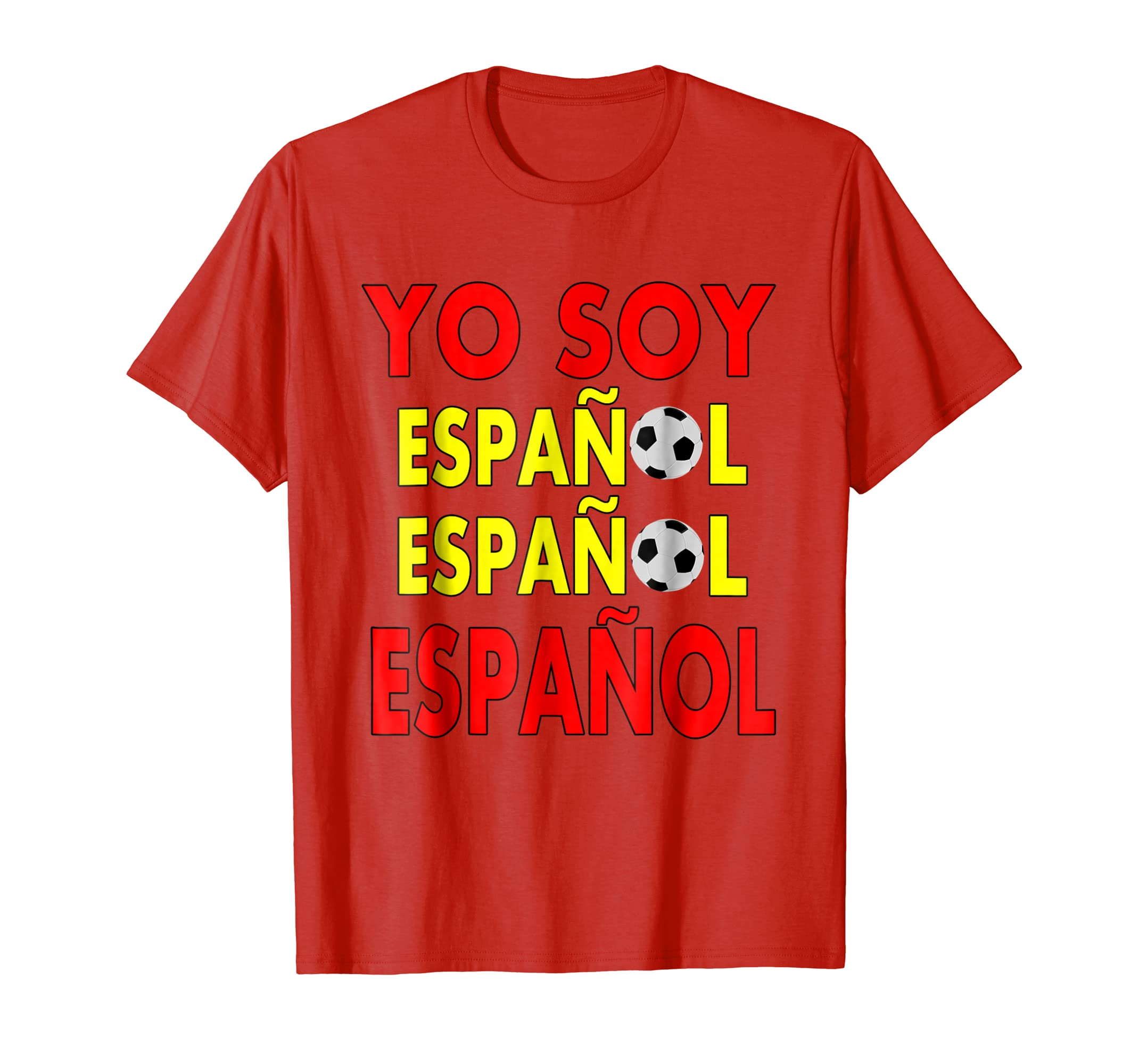 Amazon.com: Camiseta de Espana Futbol Spaniard Shirt National Team Shirt: Clothing