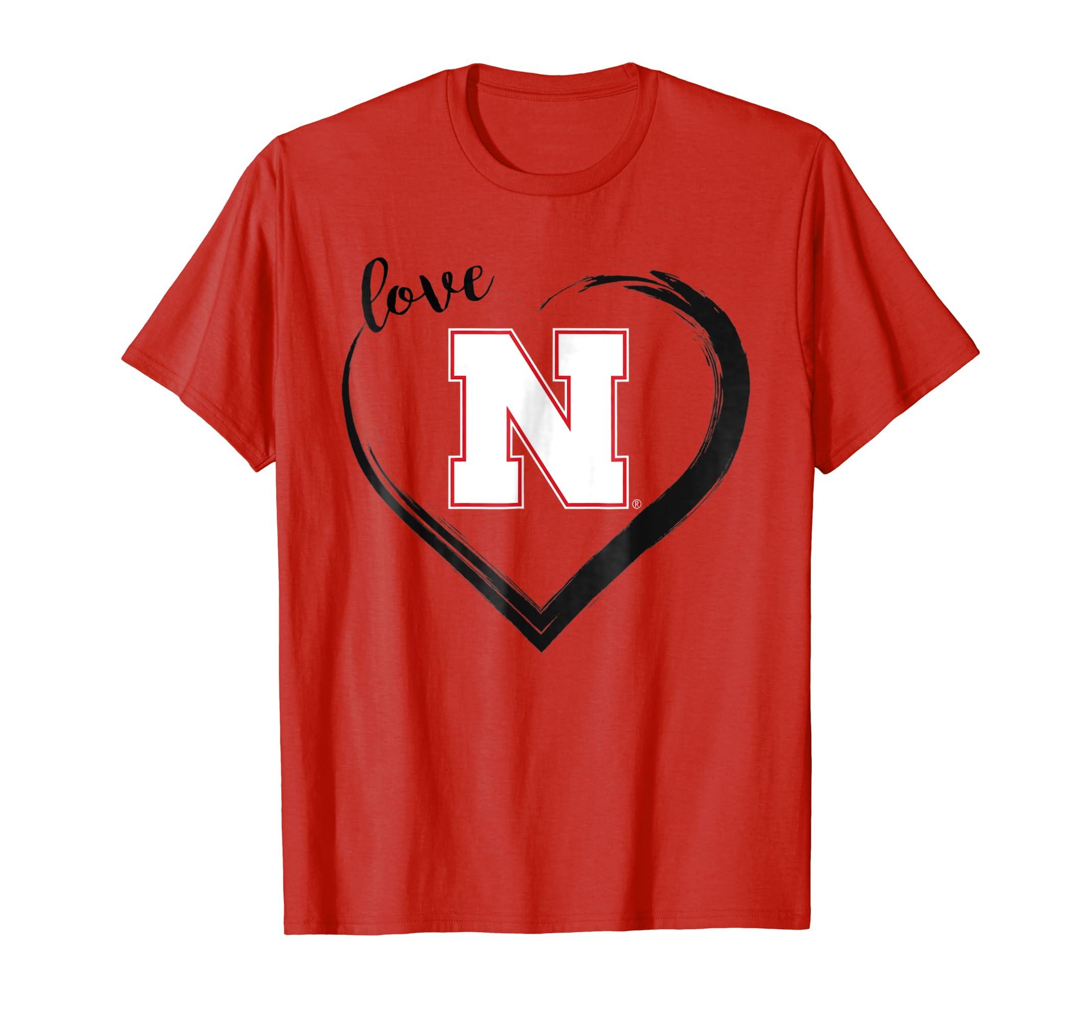 Amazon.com  Nebraska Cornhuskers Husker Womens Nebraska Shirts T-Shirt   Clothing 0ed8112ac