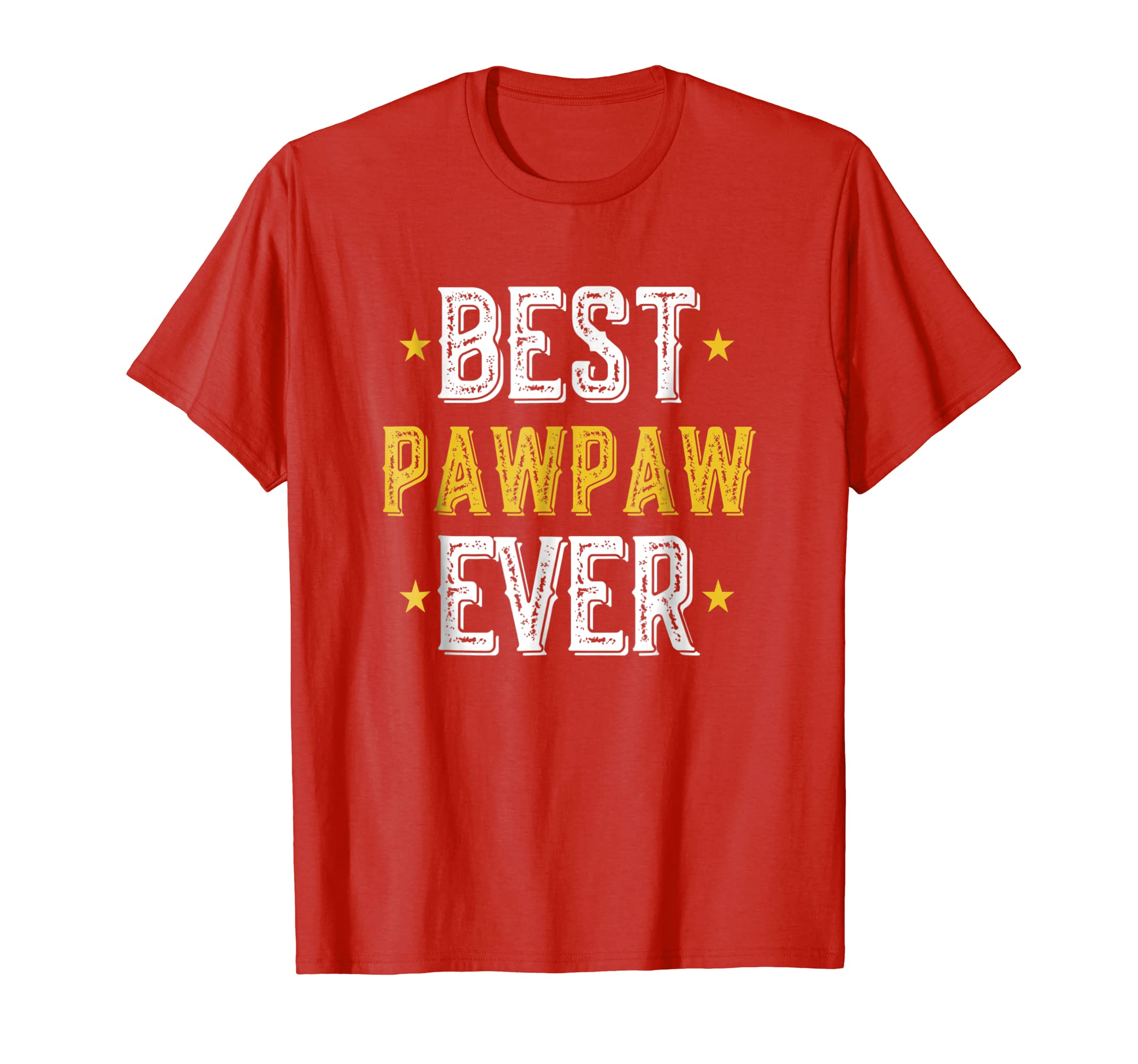 b6142484 Amazon.com: Mens Best Pawpaw Ever Father's Day T-Shirt For Papa/Grandpa  Shirt: Clothing