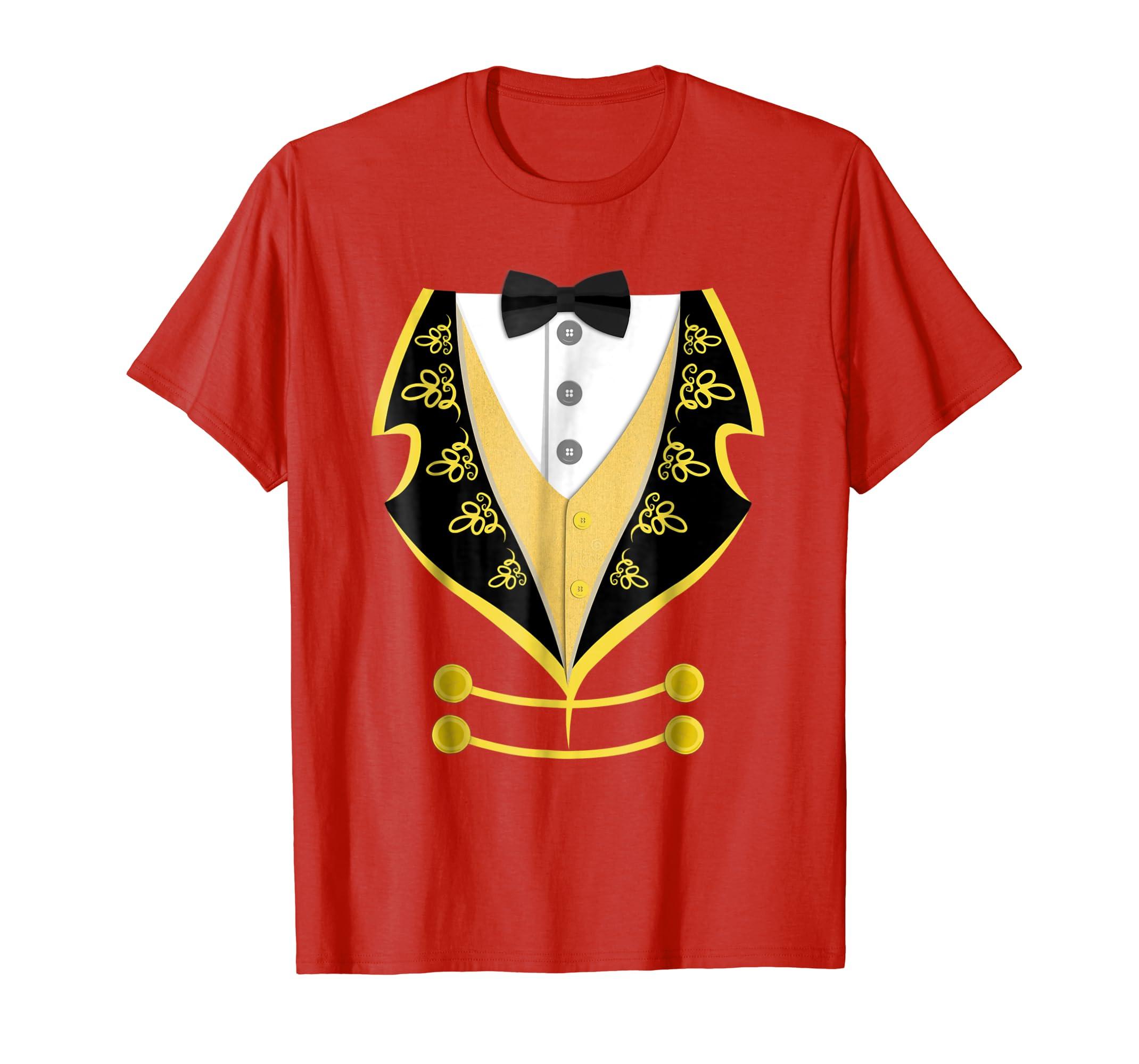 Ringmaster Shirt Circus Costume T Shirt-mt