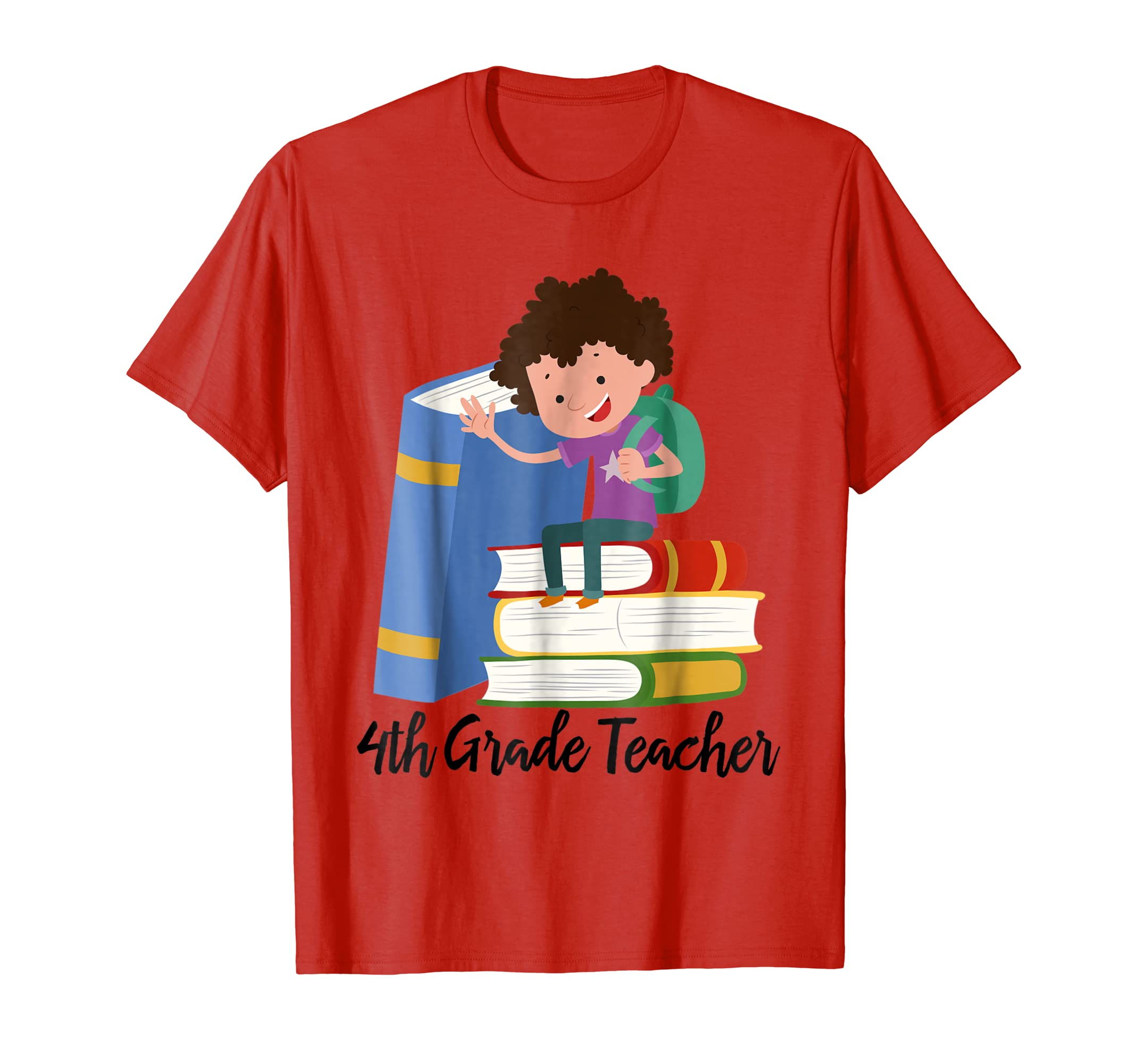 4th Grade Teacher, Teach Gifts Ideas, Teacher T-Shirts-SFL