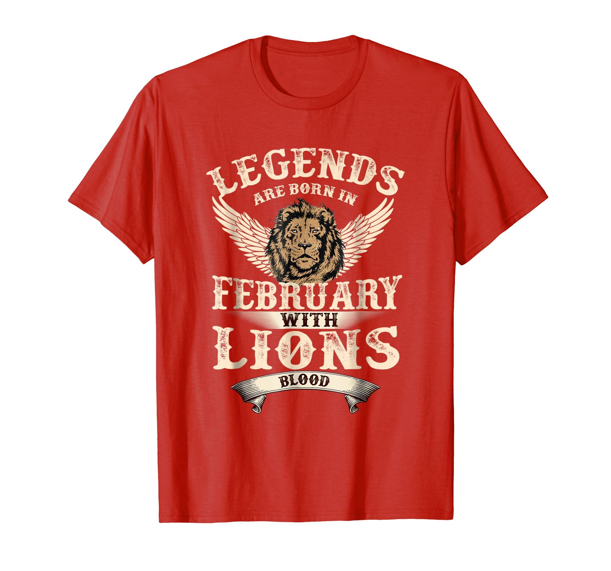 Legends are born in february