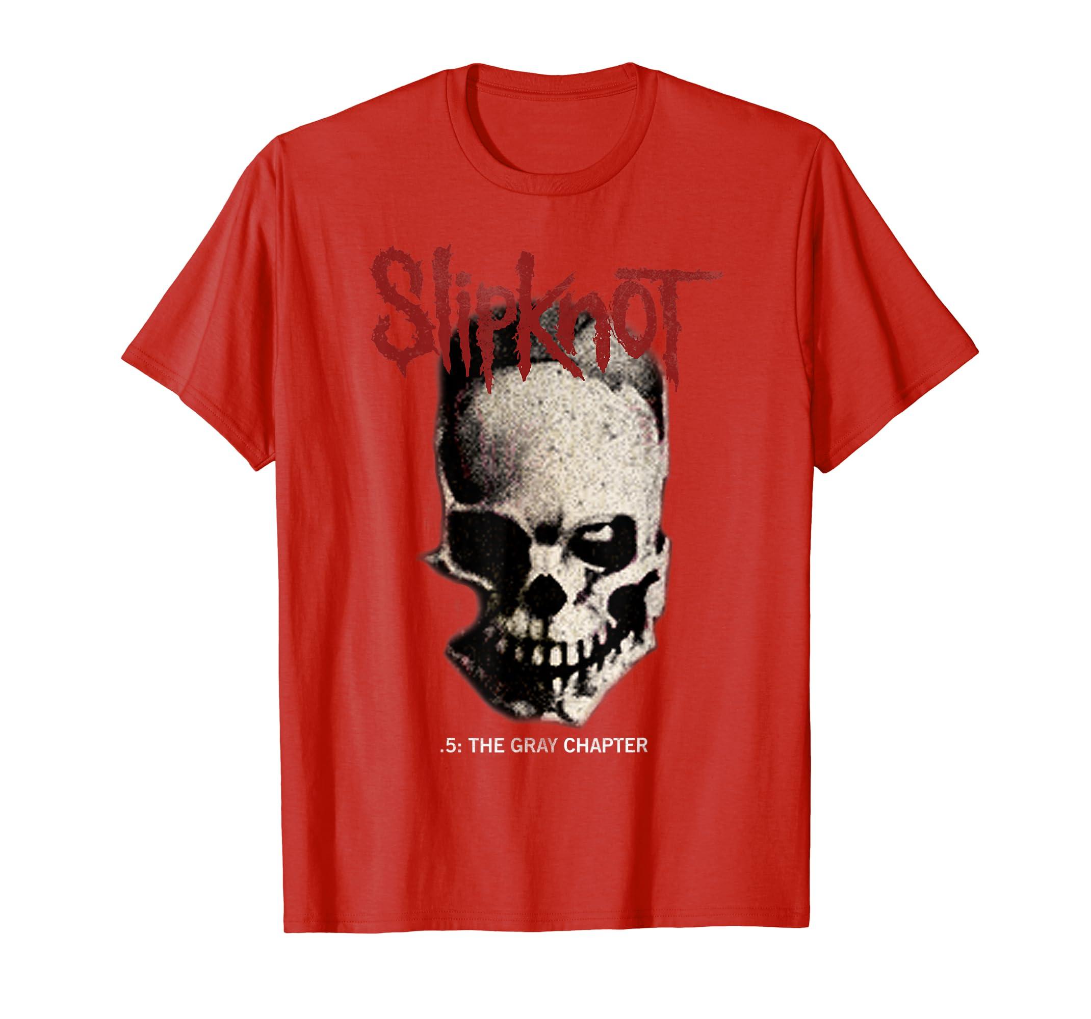 54768cb9 Amazon.com: Slipknot Tribal Skull T-Shirt: Clothing