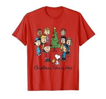 peanuts christmas time - Peanuts Christmas Shirt