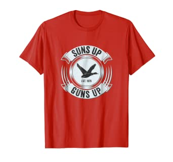 6d5672f61 Image Unavailable. Image not available for. Color: Duck Hunting Hunter  Funny Shirt ...