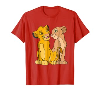 bb849068 Disney The Lion King Young Simba and Nala Together T-Shirt