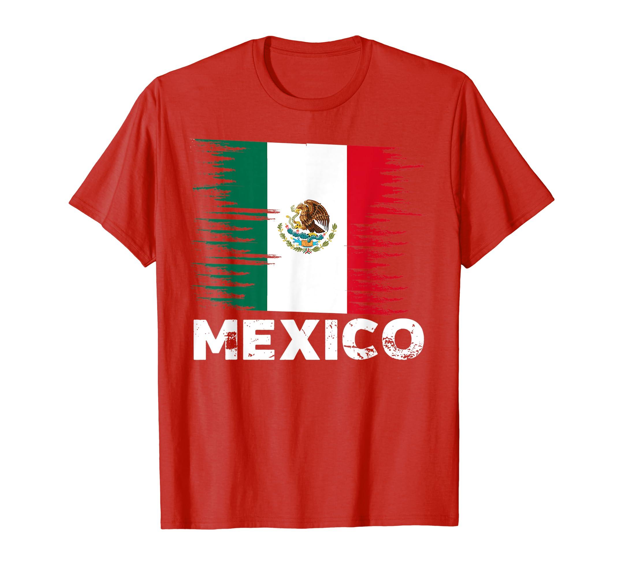 Amazon.com  Mexico - Mexican Flag Shirt  db6f474c2
