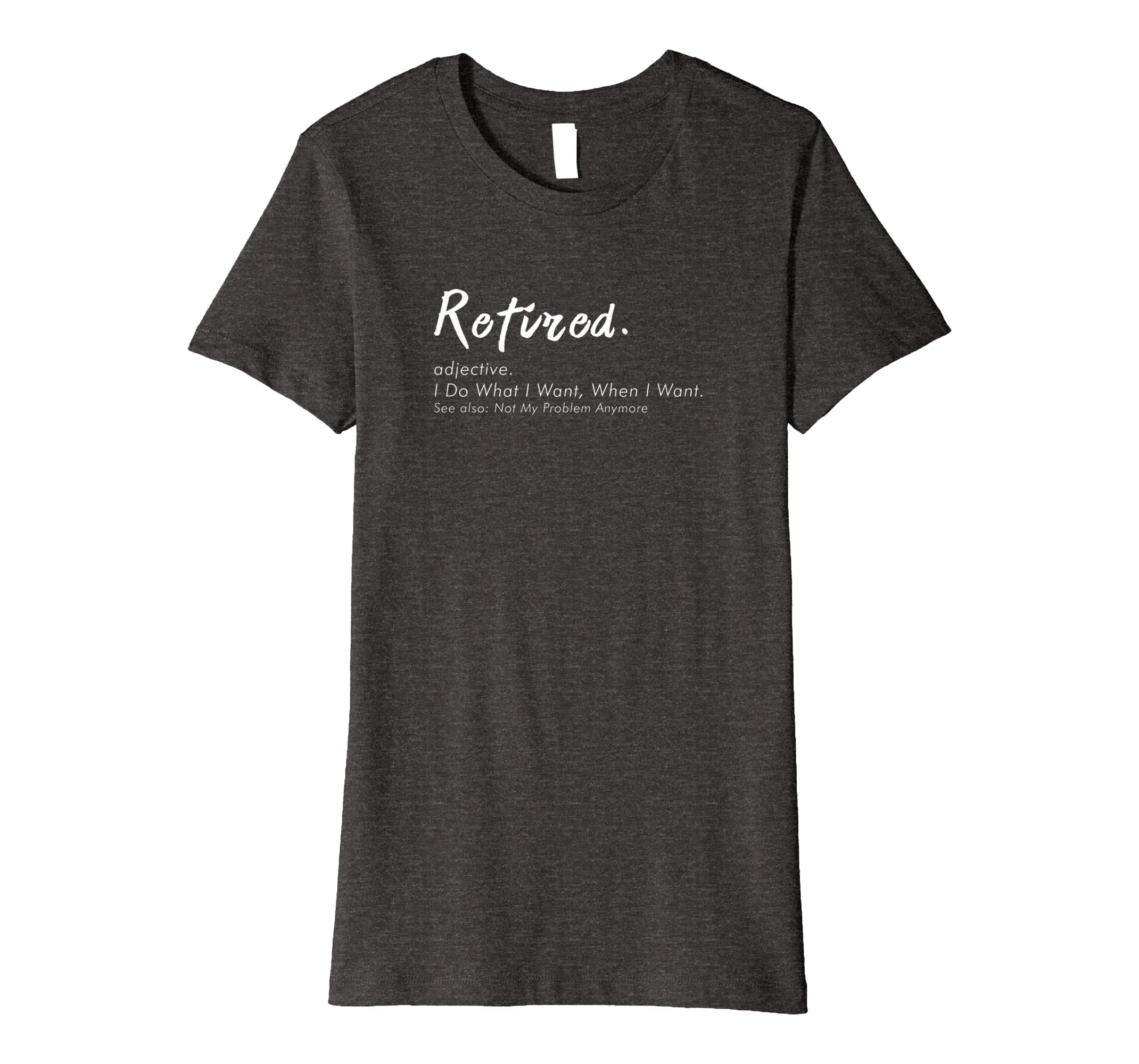 Retired Definition T-Shirt, funny Retirement Gag Geschenke: Amazon ...