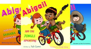 Abigail and the Magical Bicycle (4 Book Series)