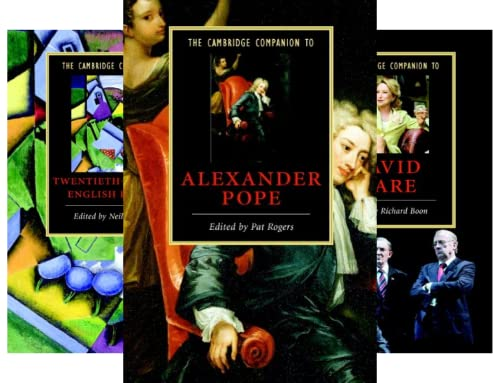 Cambridge Companions to Literature (151-200) (50 Book Series)