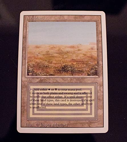 en stock Scrubland by Magic Magic Magic  the Gathering  venderse como panqueques