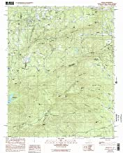 YellowMaps Saluda NC topo map, 1:24000 Scale, 7.5 X 7.5 Minute, Historical, 1983, Updated 1992, 26.8 x 21.9 in
