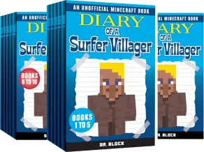 Complete Diary of a Minecraft Villager (4 Book Series)