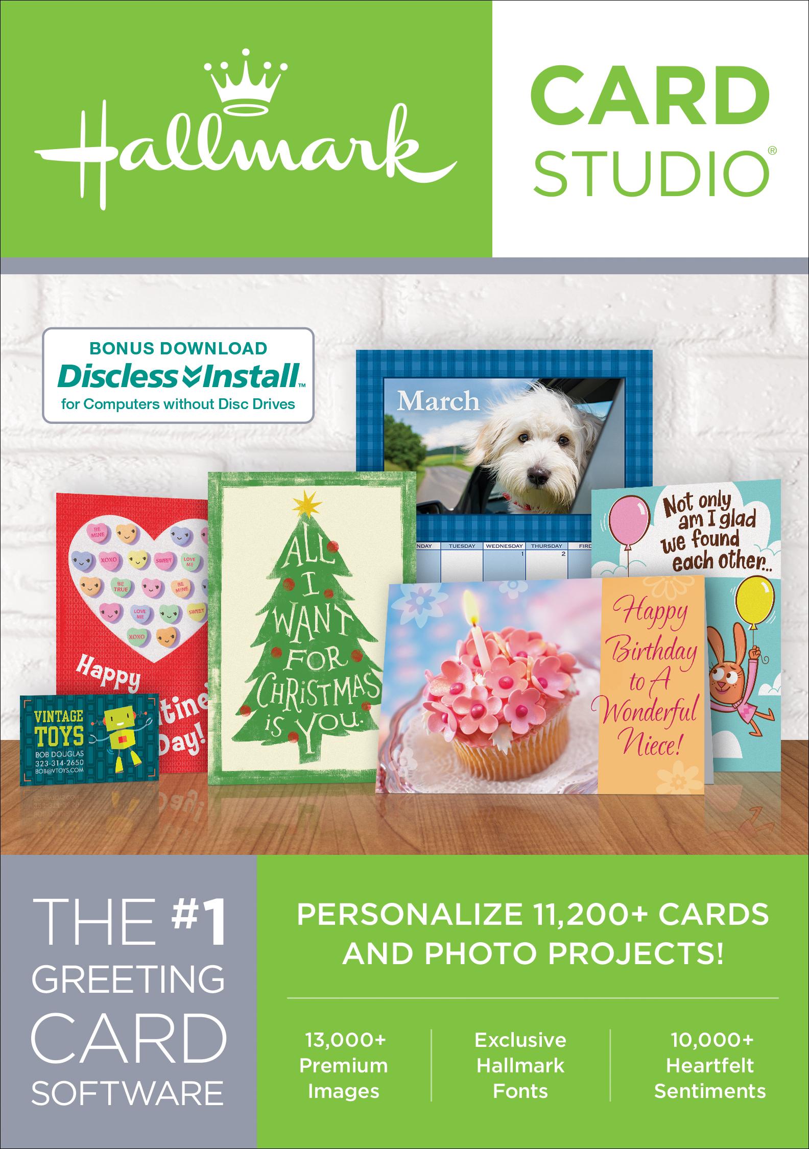 Hallmark Card Studio 2018