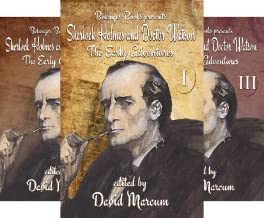 Sherlock Holmes and Dr. Watson: The Early Adventures (3 Book Series)