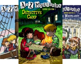 A to Z Mysteries: Super Edition series (12 Book Series)