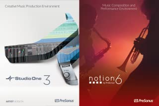 PreSonus Artist Bundle (Studio One 3 Artist and Notion 6) [Online Code]