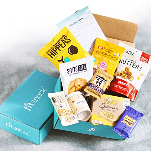 Fit Snack - Healthy Snack Subscription Box - The World's Healthiest, Best-Tasting Brands, Monthly Workouts and Nutrition Tips. Wellness in a Box!